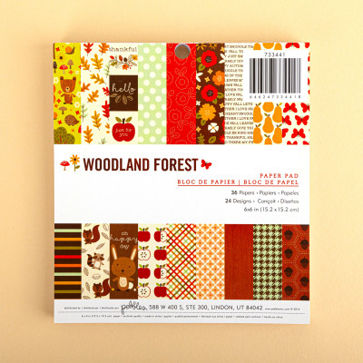 Woodland Forest Papierblock