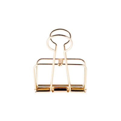 Wire Clips Gold